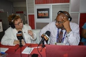 "Courtesy/WHUR -- WHUR radio host said being the RNC was especially important for black media.   ""It's a no brainer,"""