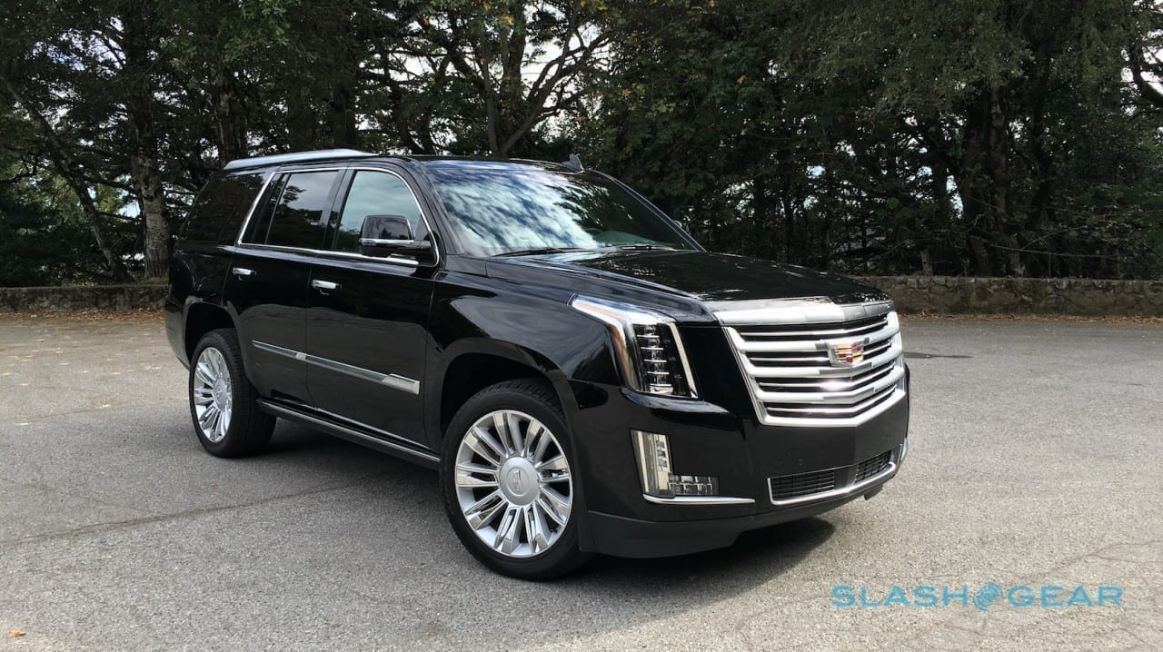 The Driver's Seat: The 2016 Cadillac Escalade Platinum ...