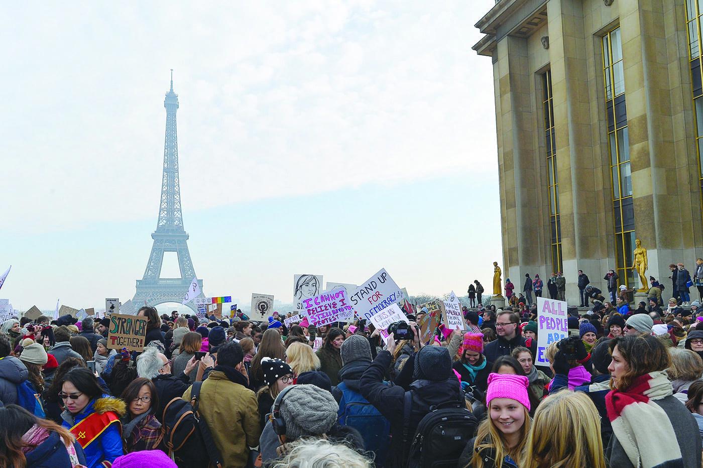 Women's March In Paris