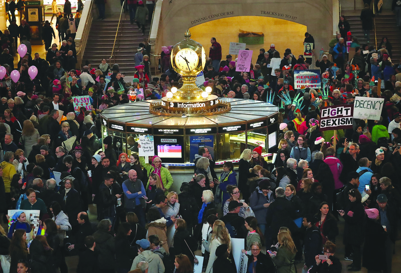 Women's March Held In New York City