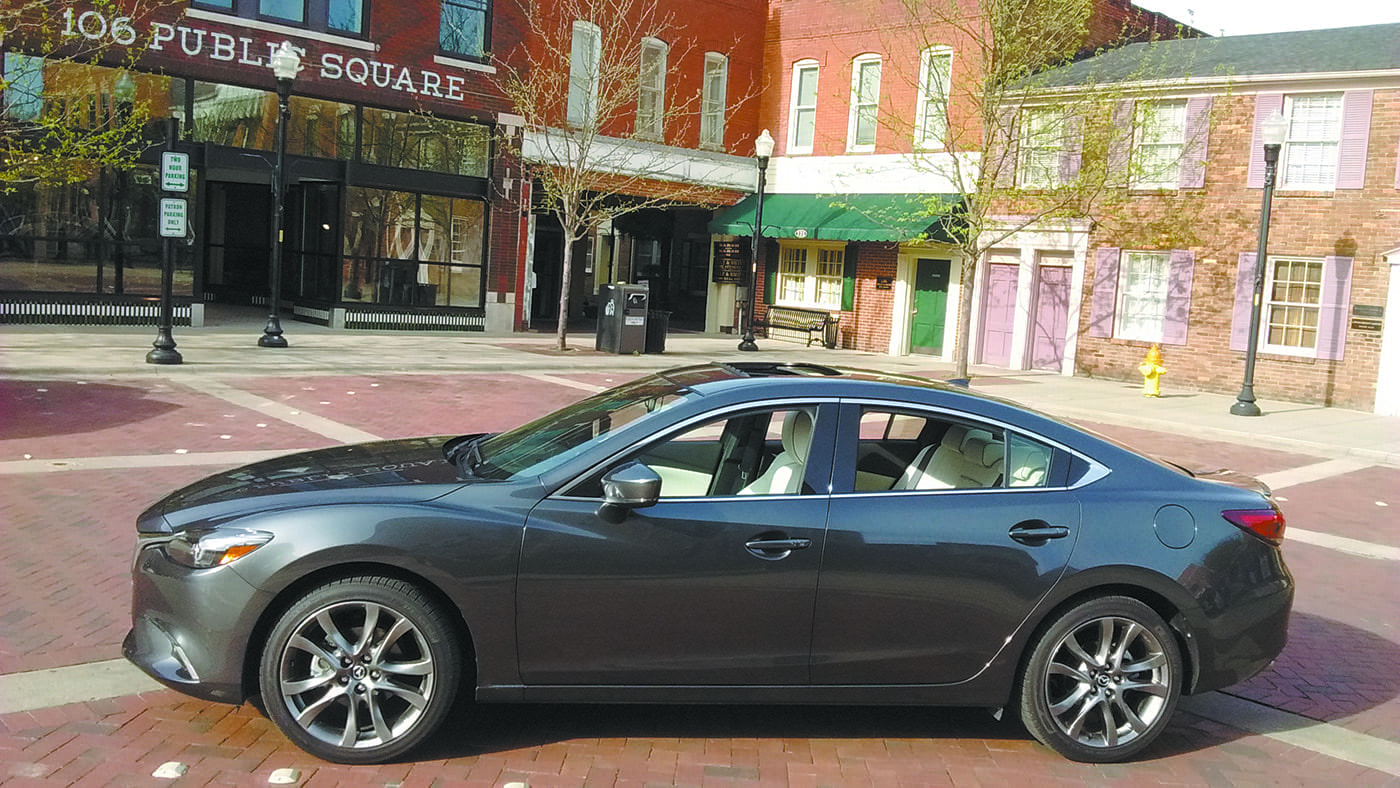 2017 mazda 6 grand touring the tennessee tribune. Black Bedroom Furniture Sets. Home Design Ideas