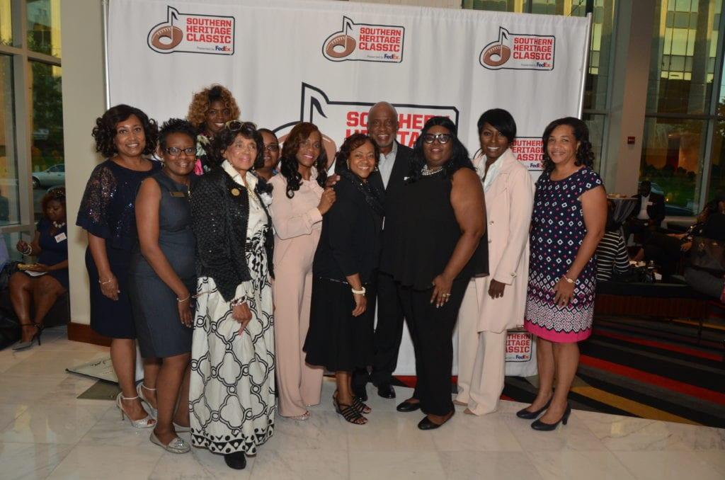 6 5SHC- Founder Fred jones Jr. & The Coalition Of 100 Black WomenPres. Iletha R. Washington .