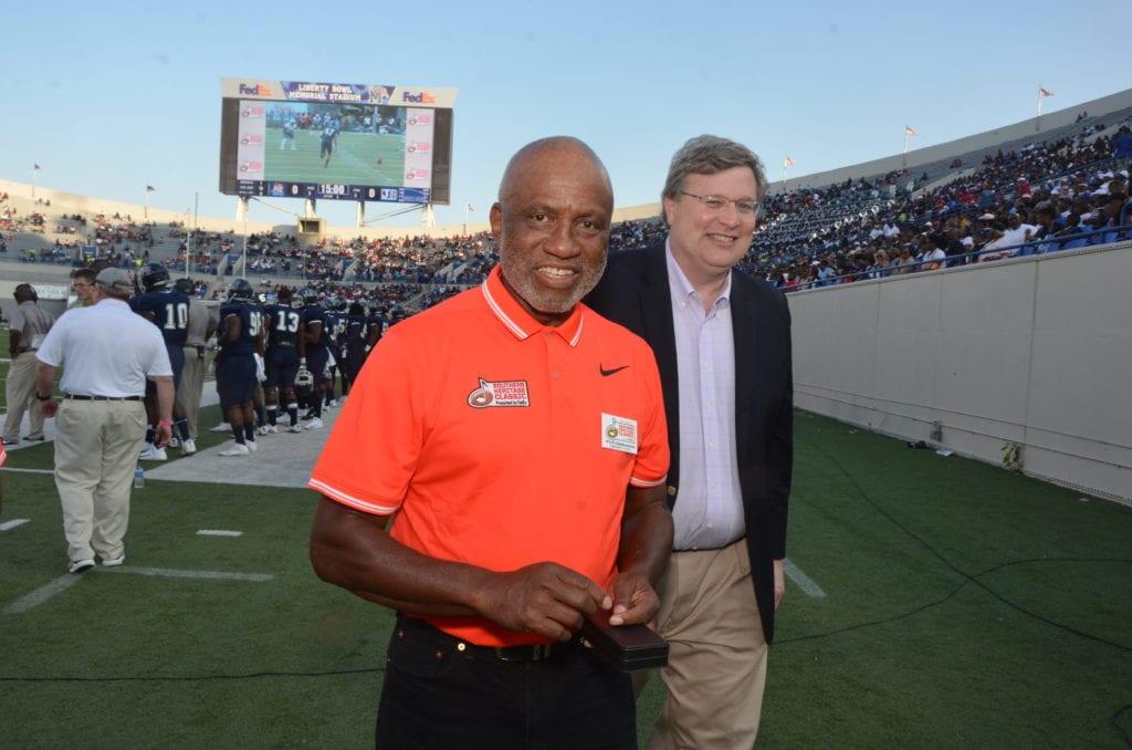 Mayor Strickland & Fred Jones Jr.