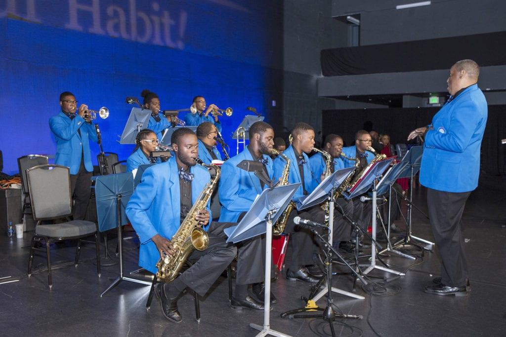 Jazz Collegians under the direction of Professor James Sexton, Conductor