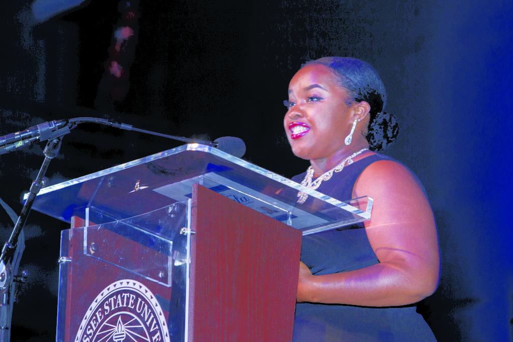 Scholarship Recipient Makayla McCree