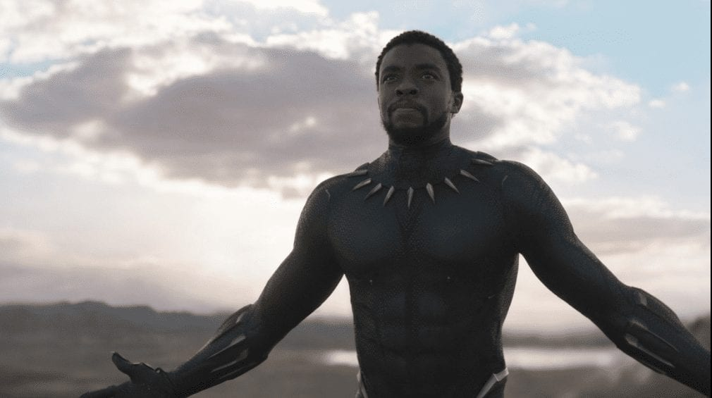 Chadwick Boseman stars as Black Panther
