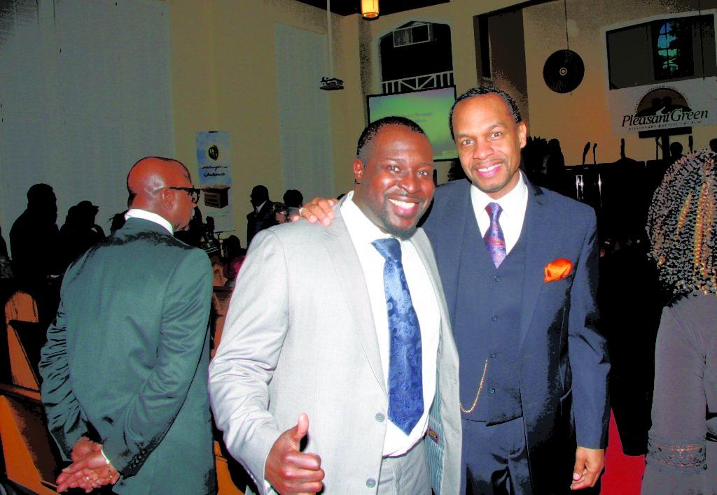 11. Asst. Pastor Rev. Pierre Moss and Pastor Chris Jackson