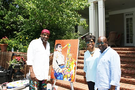 Jazz It Up by James Threalkill with Monica and Byron Fawknotson.May 192018