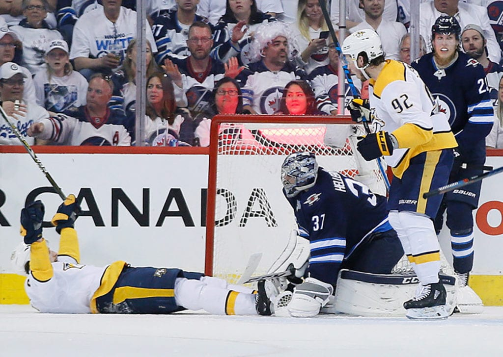 Winnipeg Jets move closer to Western Conference Final