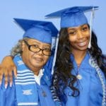 Theresa Lyles and her grandmother Zuri Lyles were part of the same graduating class at Tennessee State University on Saturday, May 5.