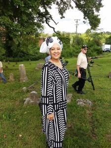 eight of eight Honors Slave Ancestors With Libation Ceremony