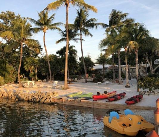 Kona Kai resort offers kayaks, paddleboards and paddleboats