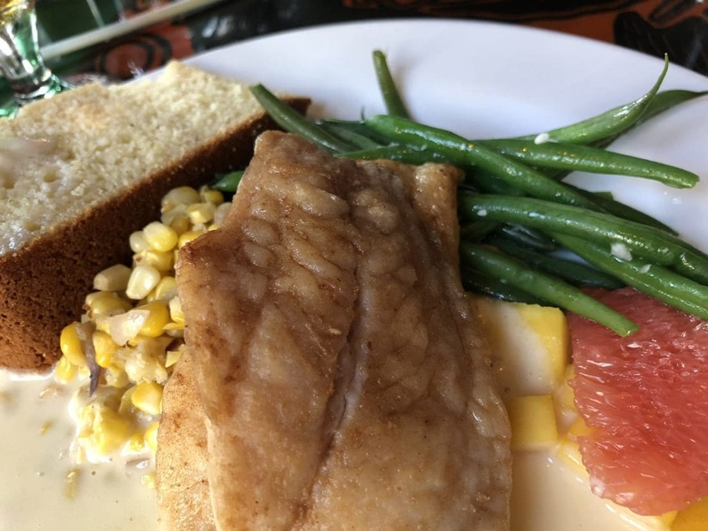 Red Snapper at Blue Heaven