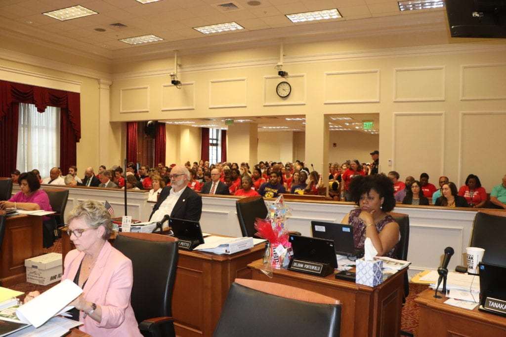 Teachers Stage Day of Action While Metro Council Hears School Budget