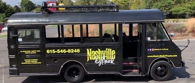 Nashville DJ Truck Picture