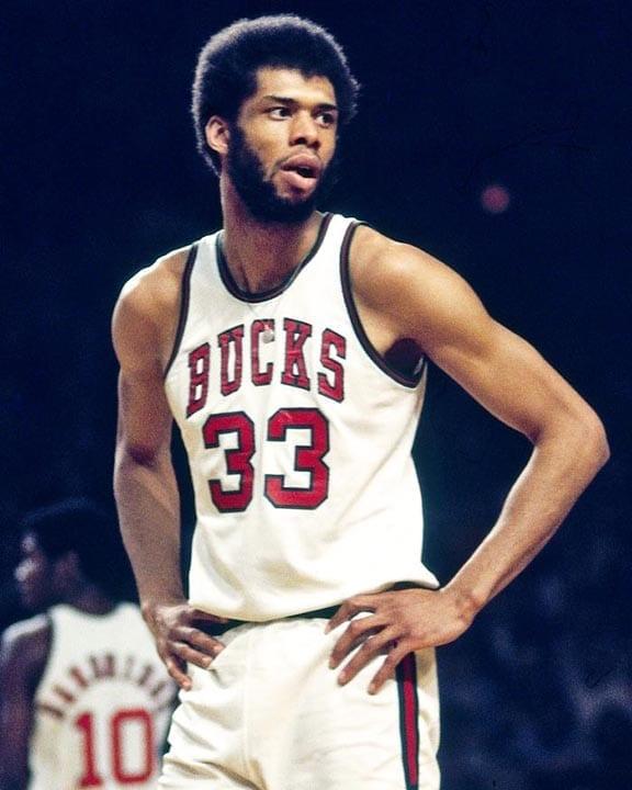 Kareem Abdul-Jabbar playing with the Milwaukee Bucks. The Bucks won the  1971 NBA championship with Abdul- Jabbar leading the team.(AP PHOTO) - The  Tennessee Tribune