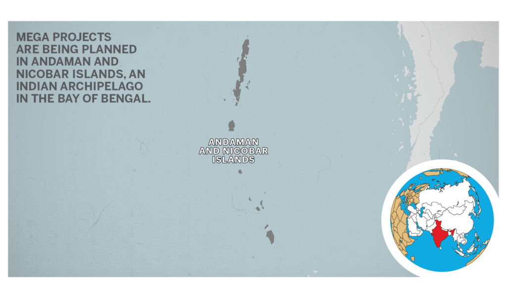 Map of Andaman & Nicobar