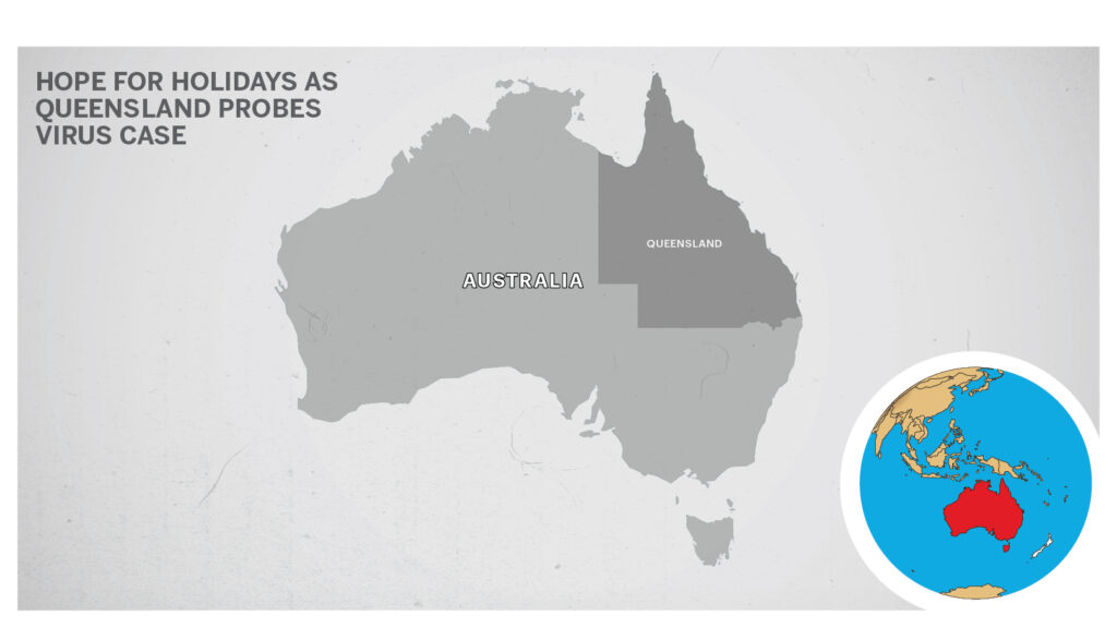 Map for Queensland Australia 2
