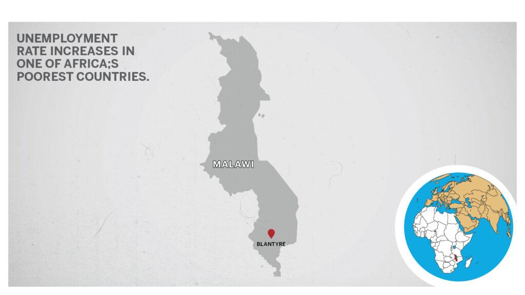 Map of Blantyre Malawi