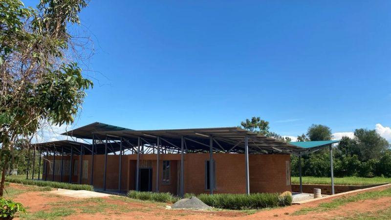A youth and orphan training centerunder construction in Kogelo, Siaya county on May 13, 2020. (Sauti Kuu Foundation/courtesy)