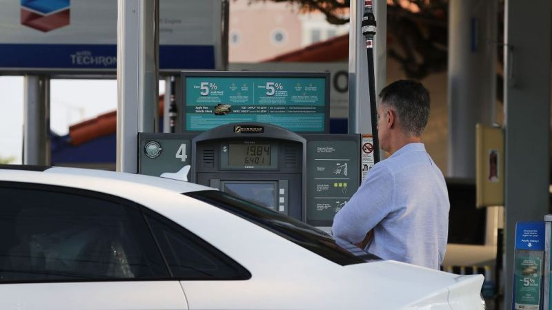 Gasoline prices continue soaring and are now up to levels not seen since 2014. (Joe Raedle/Getty Images)