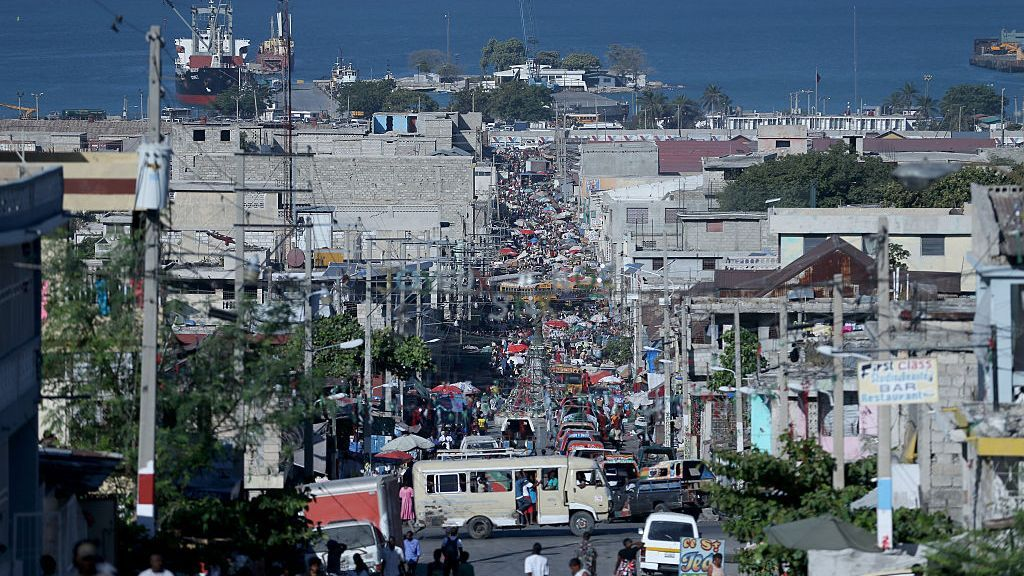 Port-au-Prince, Haiti. Kidnappings in Haiti have surged by 300 percent this year, according to the Center for Analysis and Research for Human Rights, a Port-au-Prince-based nonprofit. (Joe Raedle/Getty Images)